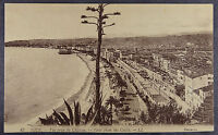 France Nice View from Castle Cote d'Azur Postcard (c236)