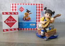 New My Little Kitchen Fairies Baklava Fairie Figurine Dessert Mandolin Fairy Nib