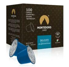 Montedoro Caffe` Delicato.100 capsules compatible with Nespresso OriginalLine.