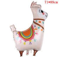 1pc lama foil palloncino fumetto animale alpaca palloncino compleanno-decorazicr
