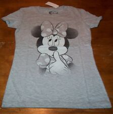 WOMEN'S TEEN VINTAGE STYLE Walt Disney MINNIE MOUSE T-shirt XS NEW w/ TAG