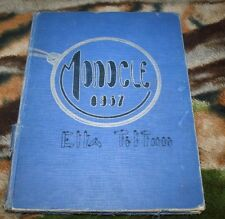 Senior & Junior High Schools Yearbook The Monocle 1937 Chippewa Falls Wisconsin