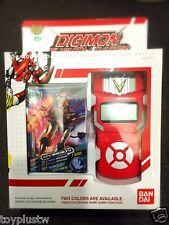 Bandai Digimon Xros Wars RED Fusion Loader ENGLISH Digivice Data Link NEO RARE