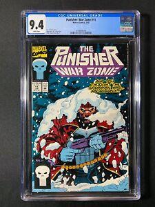 Punisher: War Zone #11 CGC 9.4 (1993)