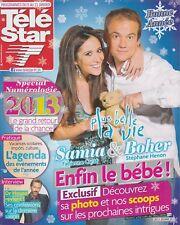 Télé Star / 31-12-2012 N°1892 : Hugh Laurie / Dr House - Matthew Fox - Sinclair
