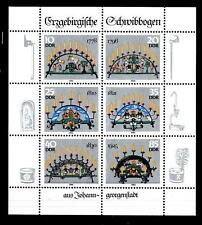GERMANY - GERMANIA - DDR - 1986 - Candelabri ornamentali della regione dell'Erz