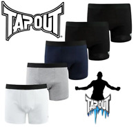 LOT DE 5 BOXERS TAPOUT HOMME MMA SPORT COLLECTION 2020 DU S AU XXL