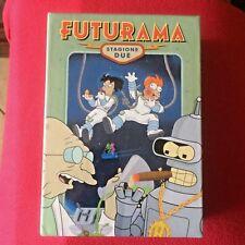FUTURAMA Stagione DUE 4 x dvd film Italiano cartoni animati