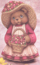 Ceramic Bisque Valentines Day Teddy Bear Girl U-Paint  Ready to Paint Unpainted