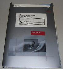 Werkstatthandbuch Audi A2 Einspritz- und Vorglühanlage (AMF 3-Zylinder TDI)