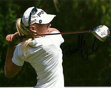 Pernilla Lindberg Hand Signed 8x10 Photo LPGA Golf Autograph
