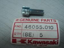 1973-09 KAWASAKI KX KV KD CABLE ADJUST SCREW 46055-010