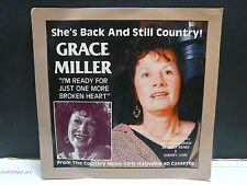 GRACE MILLER I m ready for just one more broken heart SIB 7 90002 COUNTRY