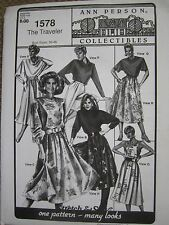 Ann Person Collectibles - The Traveler 1578 Stretch & Sew (Pattern Only)
