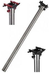 J&L Ultra light Titanium/Ti 31.8MM Seatpost fit Brompton-Fit 7*9 Rails