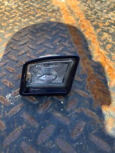 OEM RIGHT SIDE 1999-2005 VOLKSWAGEN BEETLE BUMPER LICENSE Plate Light Blue