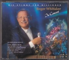 ROGER WHITTAKER-IN CONCERT 2 CD'S INTERCORD 1989 WEST GERMANY DICKE BOX