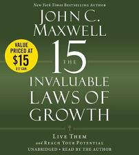 John Maxwell 15 Invaluable Laws of Growth: Reach Your Potential - Audiobook CD