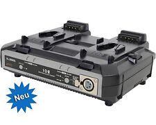 IDX VL-2000S - 2-Kanal-Simutan Ladegerät für V-Mount Akkus, NEU/NEW