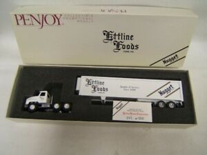 Penjoy Ettline Foods Tractor Trailer 1/64 Scale Diecast MIB York PA 95/500