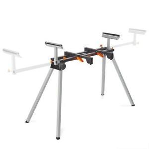 Universal Mitre Saw Stand Folding Sliding Portable Extendable Leg Heavy Duty New