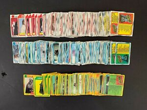 1980 Topps Star Wars Empire Strikes Back Partial Complete 341/352 Set Fair Cond