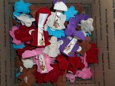 LOT OF 74 ASSORTED ANGEL NECKLACES WITH VELOUR GIFT BOX *SEE DESCRIPTION*