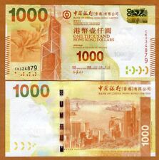 Hong Kong, $1000, 2013, BOC, P-345c, UNC