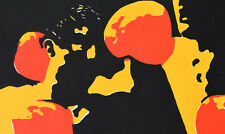 Alf Schuler * 1945 Kassel/farbserigrafie/composizione astratta firmati 1968