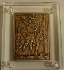 1991 UD MICHAEL JORDAN BRONZE BASKETBALL CARD IN CASE