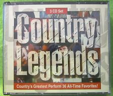 Country Legends 3 CD Set 1994 GSC Music Sony 3 CD