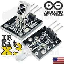3 x Infrared IR Receiver & IR Transmitter Starter Kit - Arduino Raspberry Pi TTL