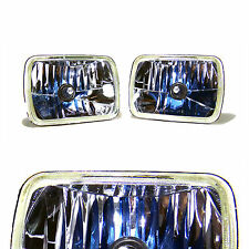 7x6 Crystal Clear Halogen Headlights H6054 H6014/H6052/ 6054 (Pack of 2)