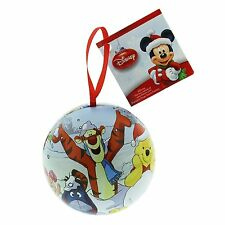 Disney Winnie the Pooh Tigger Tin Bauble Christmas Tree Decoration Ornament