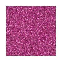 Miyuki Seed Beads 15/0 Fuchsia Lined Crystal 15-209 Pink Glass 8.2g Round Tiny