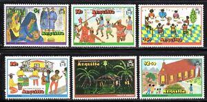 1978 Anguilla SC# 325-330 - Christmas - M-NH