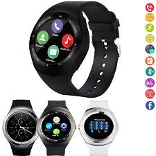 Bluetooth Wrist Smart Watch Sport Bracelet For Men Women Samsung LG HTC Android