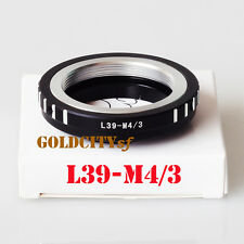 Leica L39 M39 Lens Adapter To Micro 4/3 M43 Camera E-PM1 EP3 GF3 G3 GF5 L39-M4/3