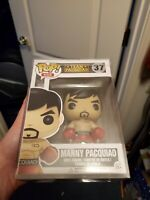 Funko Pop! Manny Pacquiao #37 Vaulted, with pop protector!