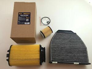 Oil Filter Air Activated Carbon W204 180 CGI C204 S204 180 115 HP 1595 Cc