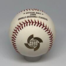 2006 Rawlings Official World Baseball Classic Logo unsigned baseball Japan U2
