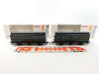 CM44-0,5# 2x Märklin H0/AC Abteilwagen SNCF NEM KK KKK: 4304 + 4305, NEUW+OVP