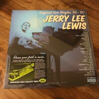 Jerry Lee Lewis Original Sun Singles '56-'60 2LPs Mono, 180g  Sundazed LP 5190