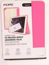 new Incipio Octane Folio Case/Cover For iPad Air 2 NEON PINK