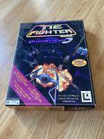 LucasArts Star Wars TIE Fighter Collectors CD - MS-DOS 1994 Big Box PC