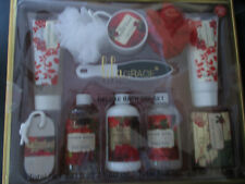 LILA GRACE  Ginger Rose 11-Piece Deluxe Bath Spa Set  NEW IN THE BOX