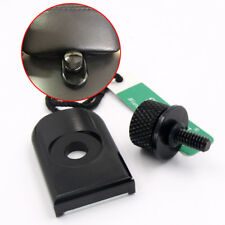 1/4�€�-20 Seat Bolt Tab Screw Mount Knob Cover For Harley Touring Sportster Black