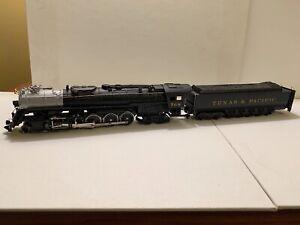 """Bachmann HO Scale 2-10-4 Texas & Pacific """"Chugger"""" Locomotive & Tender, #768"""