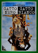 M48 MANIFESTO 2F GATTO NERO GATTO BIANCO EMIR KUSTURICA