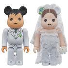 Medicom Plus Be@rbrick 2017 Exhibition 400% Wedding Couple Bearbrick Set 2pcs